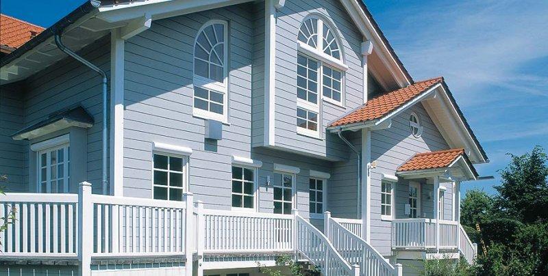 I protagonisti di restructura norges hus restructura - Casa americana in legno ...